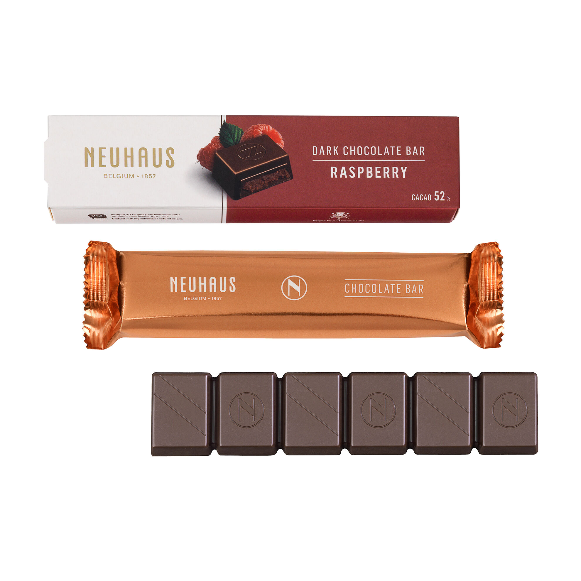 Dark Chocolate Raspberry Bar image number 01