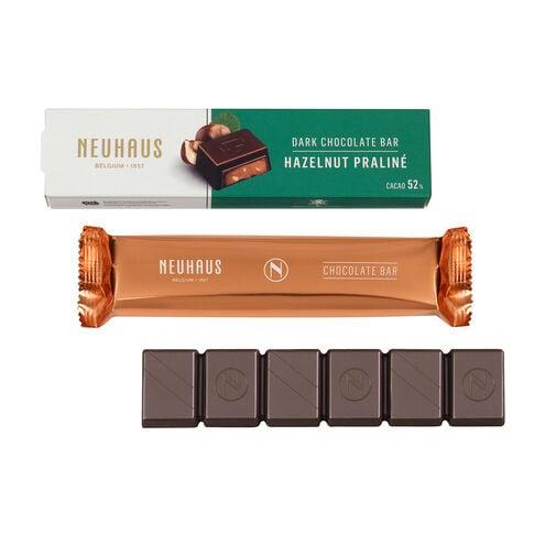 Dark Chocolate Hazelnut Praliné Bar image number 01