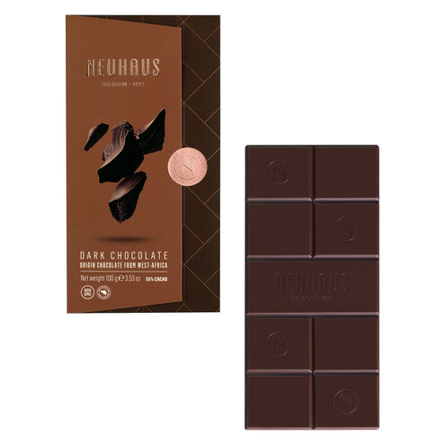 Tablet Dark 55% 100G (55% Cocoa) image number 01