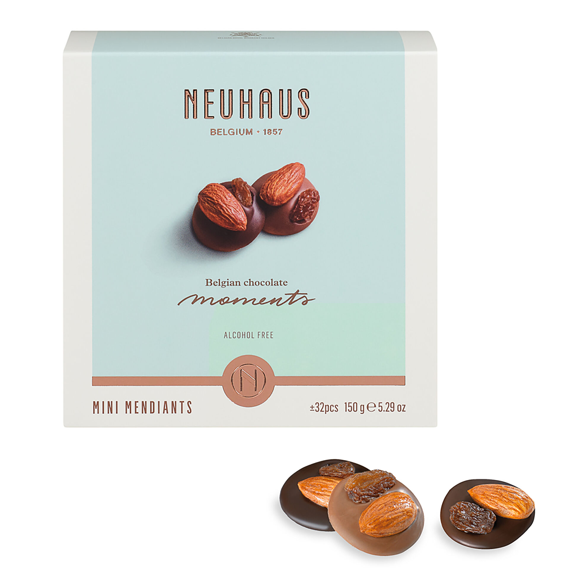 Belgian Chocolate Moments - Mini Mendiants image number 11