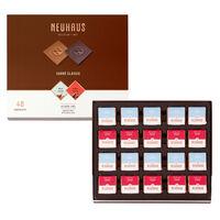 Belgian Chocolate Squares - Carré Classic Milk & Dark 40 pcs
