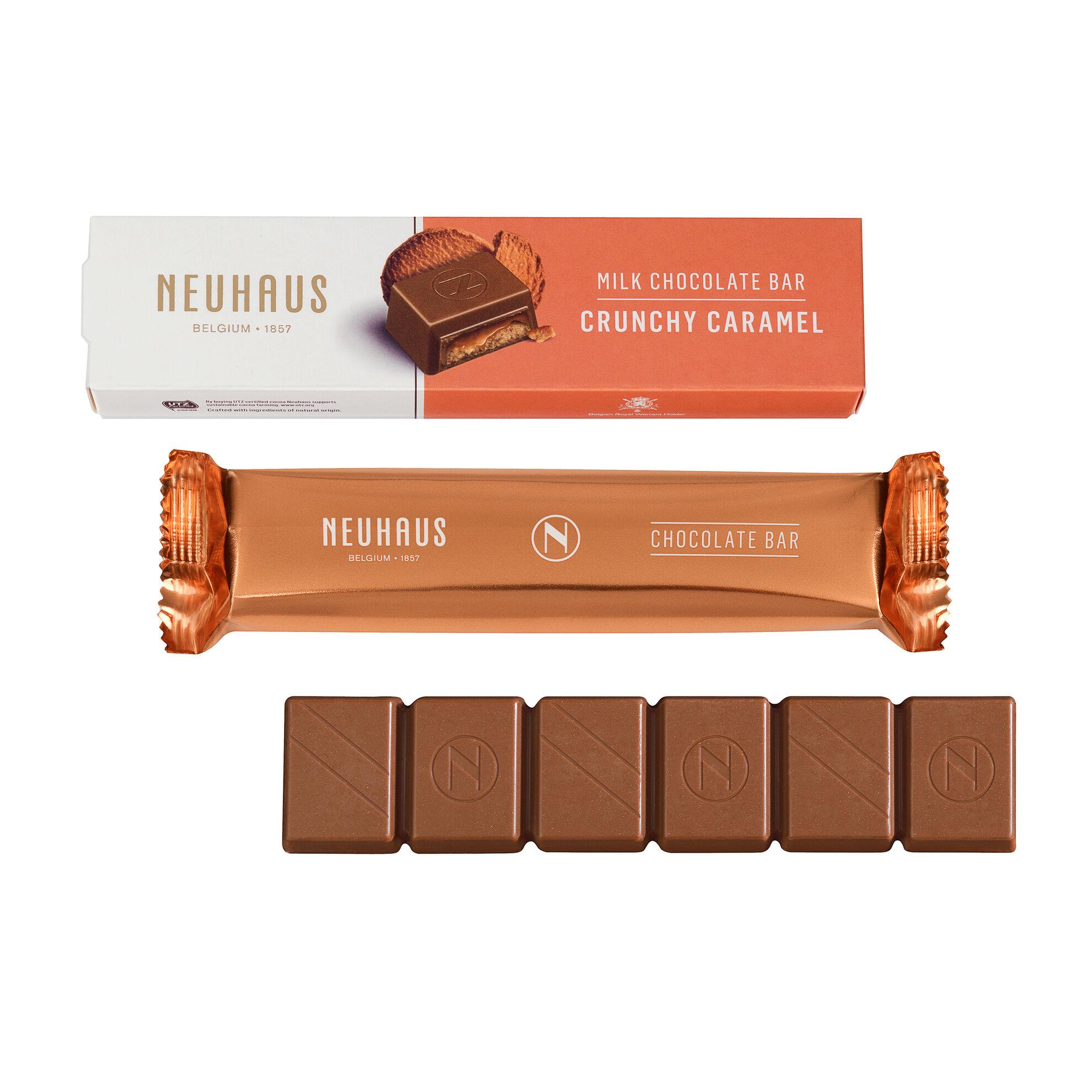 Milk Chocolate Bar - Crunchy Caramel image number 01