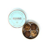 Chocolate Truffles in Round Box - Assorted 4 pcs
