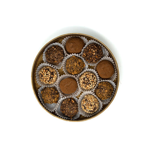 Chocolate Truffles in Round Box - Assorted Large 12 pcs image number 21