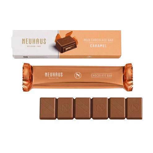Milk Chocolate Bar - Caramel image number 01