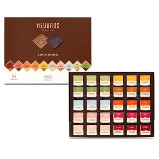 Belgian Chocolate Squares - Carré 10 Flavors 60 pcs