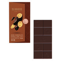 Tablet Dark Orange 100G (55% Cocoa)