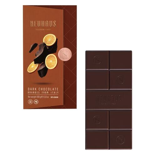 Dark Chocolate Orange Tablet image number 01