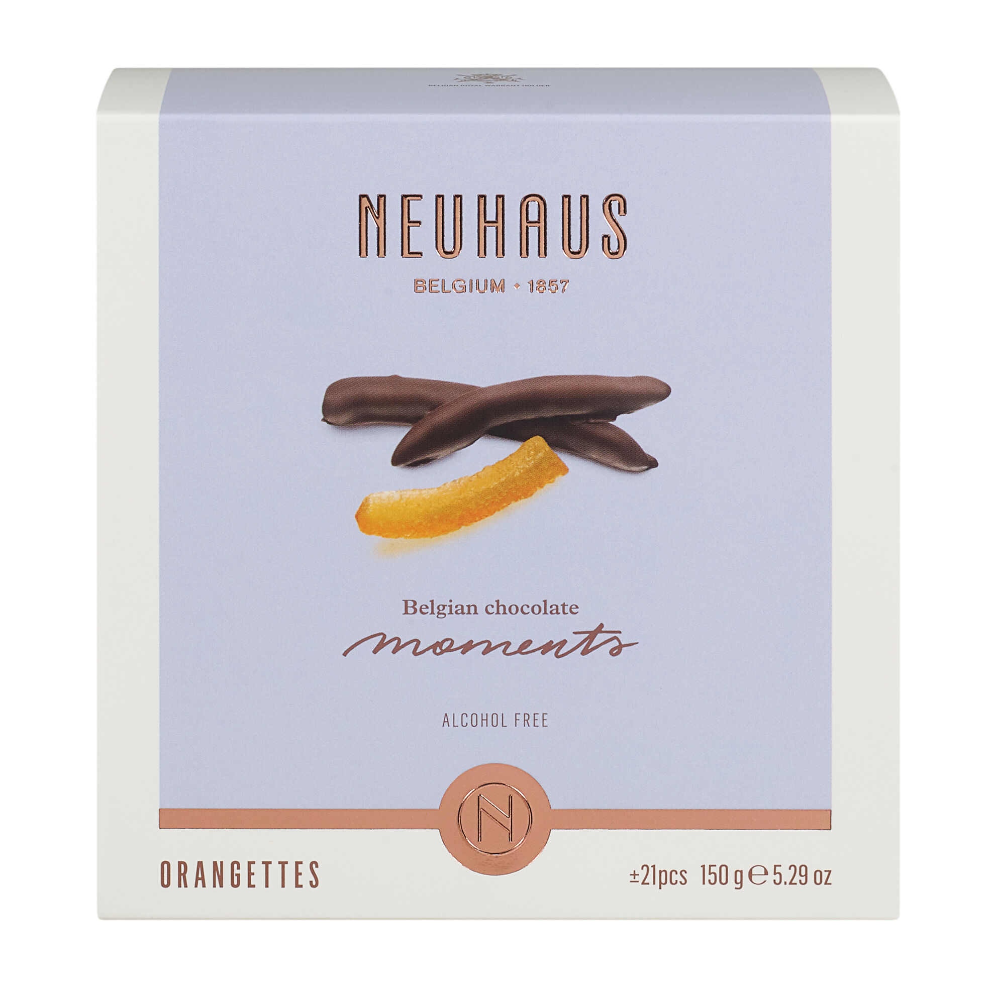 Belgian Chocolate Moments - Orangettes image number 01