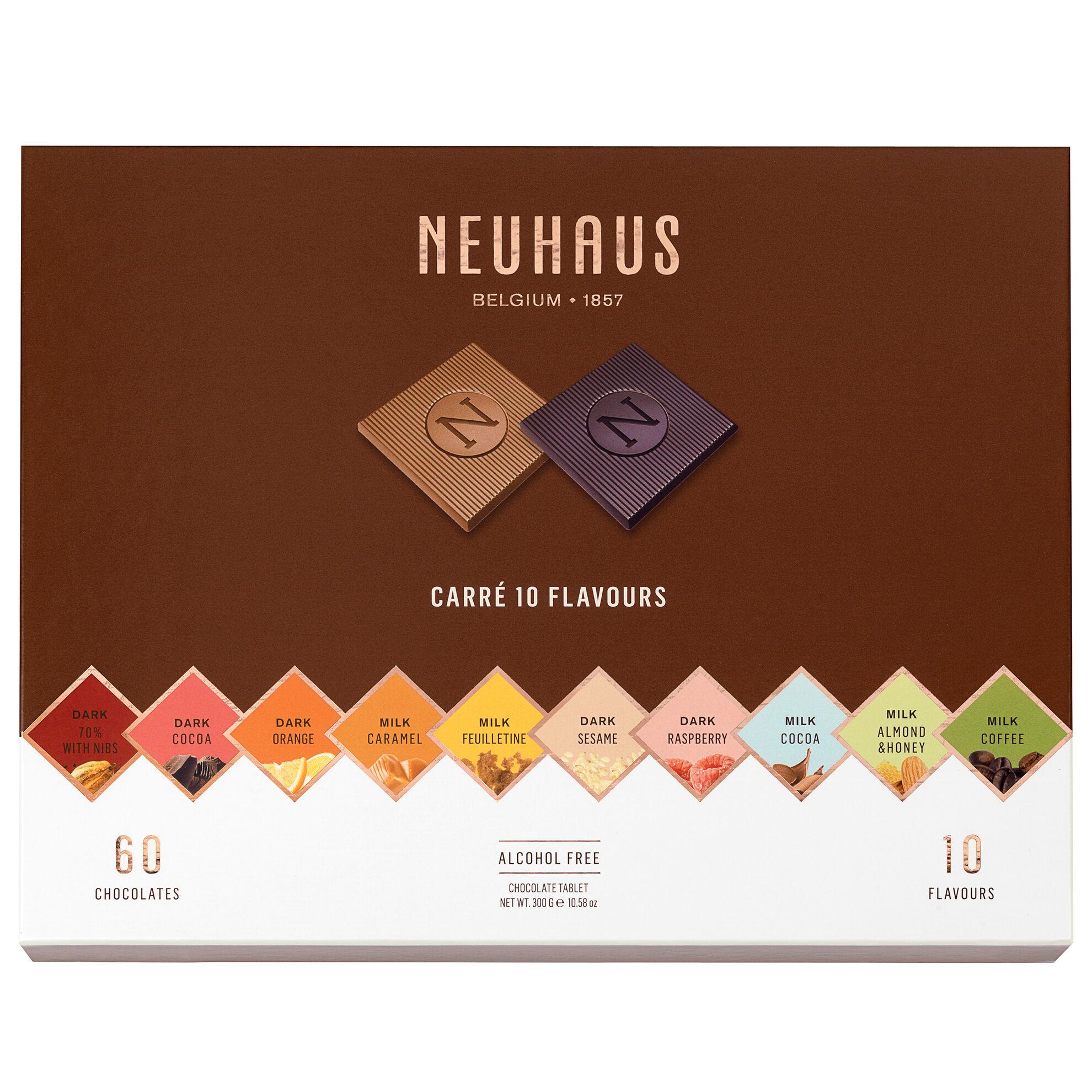 Belgian Chocolate Squares - Carré 10 Flavors 60 pcs image number 11