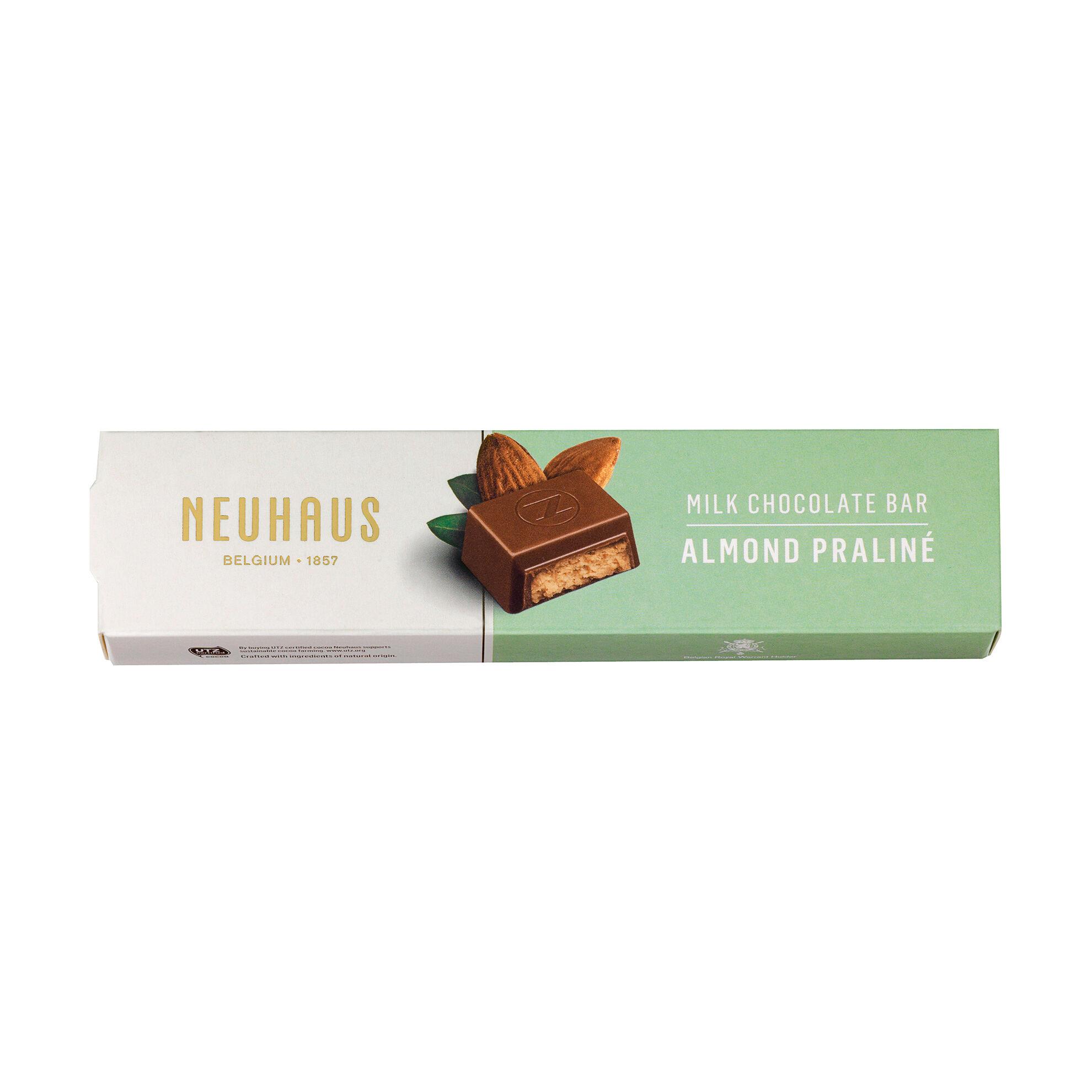 Barre chocolat praliné amandes image number 11