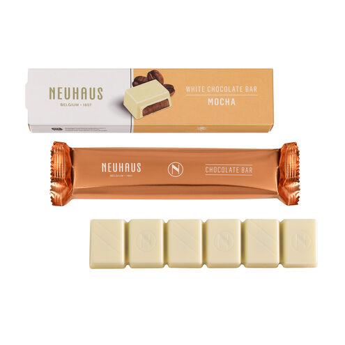 White Chocolate Bar - Mocha image number 01